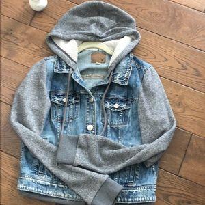 America Eagle 🦅Jean Jacket with Hood